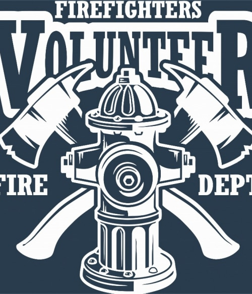 Firefighters volunteer Póló - Ha Firefighter rajongó ezeket a pólókat tuti imádni fogod!