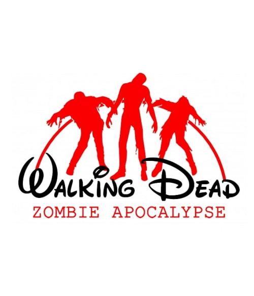 Zombi apokalipszis Póló - Ha The Walking Dead rajongó ezeket a pólókat tuti imádni fogod!