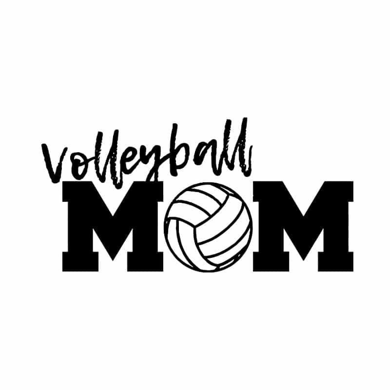 Volleyball mom Póló - Ha Volleyball rajongó ezeket a pólókat tuti imádni fogod!