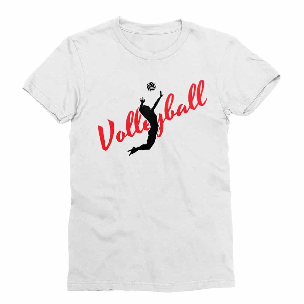 Volleyball silhouette Póló - Ha Volleyball rajongó ezeket a pólókat tuti imádni fogod!