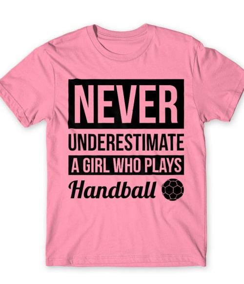 Handball Girl Póló - Ha Handball rajongó ezeket a pólókat tuti imádni fogod!