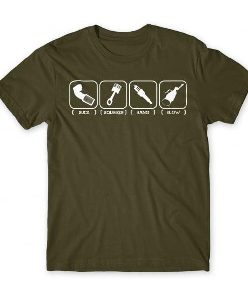 Suck Squeeze Bang Blow Póló - Ha Driving rajongó ezeket a pólókat tuti imádni fogod!