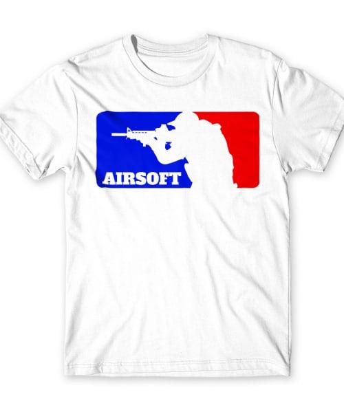 Airsoft logo Póló - Ha Airsoft rajongó ezeket a pólókat tuti imádni fogod!