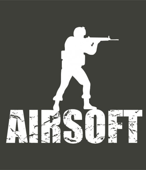 Airsoft soldier Póló - Ha Airsoft rajongó ezeket a pólókat tuti imádni fogod!