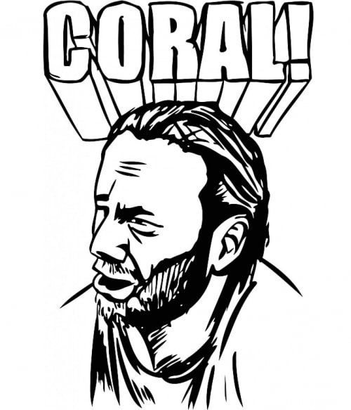 The Walking Dead Coral Póló - Ha The Walking Dead rajongó ezeket a pólókat tuti imádni fogod!