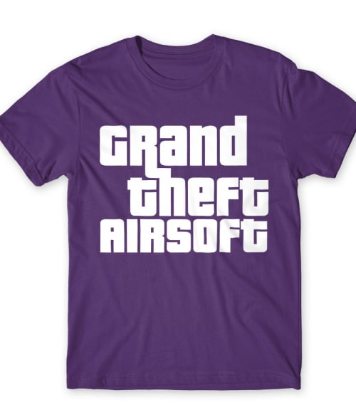 Grand theft airsoft Póló - Ha Airsoft rajongó ezeket a pólókat tuti imádni fogod!