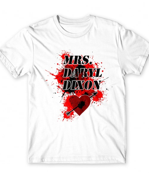 Mrs Darly Dixon Póló - Ha The Walking Dead rajongó ezeket a pólókat tuti imádni fogod!