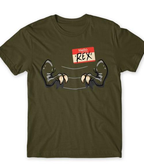 Hello my name is Rex Póló - Ha Dinosaur rajongó ezeket a pólókat tuti imádni fogod!