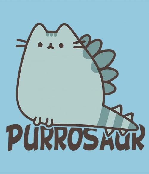 Purrosaur Póló - Ha Dinosaur rajongó ezeket a pólókat tuti imádni fogod!