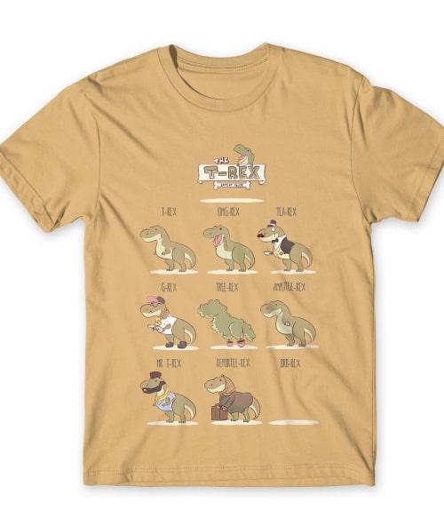 The T-Rex Expert Guide Póló - Ha Dinosaur rajongó ezeket a pólókat tuti imádni fogod!