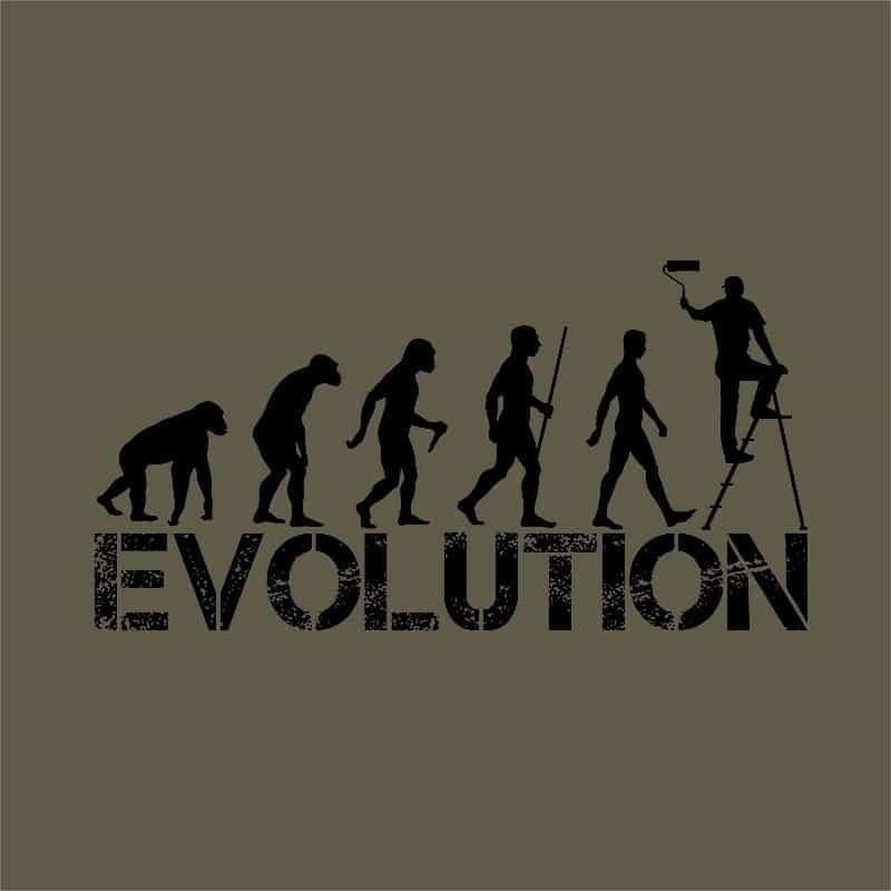 Szobafestő Evolúció Póló - Ha Painter rajongó ezeket a pólókat tuti imádni fogod!