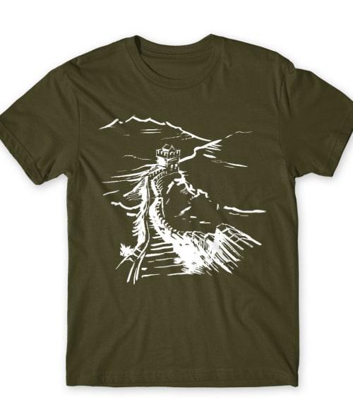 China Great Wall Póló - Ha China rajongó ezeket a pólókat tuti imádni fogod!