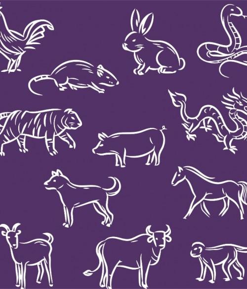Chinese zodiac Póló - Ha China rajongó ezeket a pólókat tuti imádni fogod!