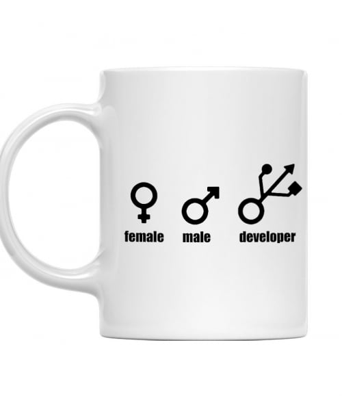 Female Male Developer Póló - Ha Programming rajongó ezeket a pólókat tuti imádni fogod!