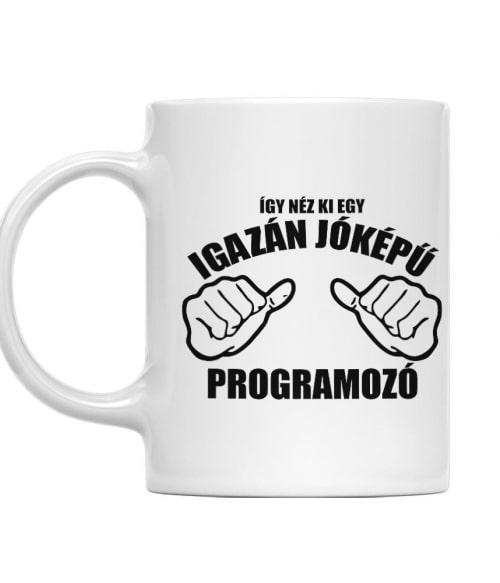 Jóképű programozó Póló - Ha Programming rajongó ezeket a pólókat tuti imádni fogod!