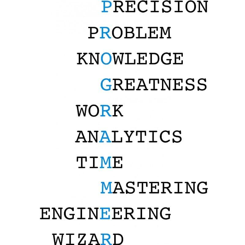 Programmer words Póló - Ha Programming rajongó ezeket a pólókat tuti imádni fogod!