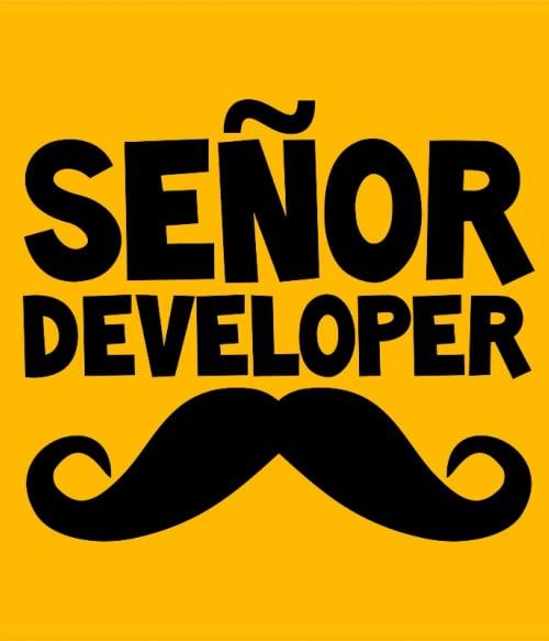 Senor developer Póló - Ha Programming rajongó ezeket a pólókat tuti imádni fogod!