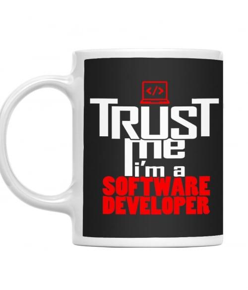 Trust me software developer Póló - Ha Programming rajongó ezeket a pólókat tuti imádni fogod!