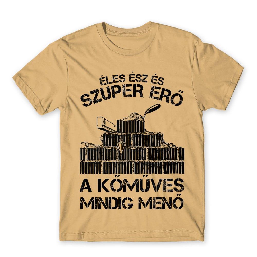 A kőműves mindig menő Póló - Ha Mason rajongó ezeket a pólókat tuti imádni fogod!