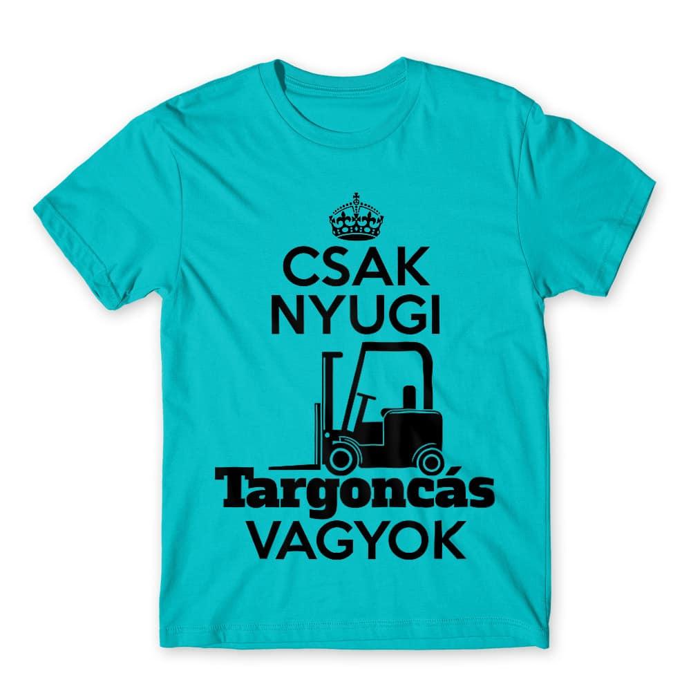 Csak nyugi targoncás vagyok Póló - Ha Forklift Driver rajongó ezeket a pólókat tuti imádni fogod!