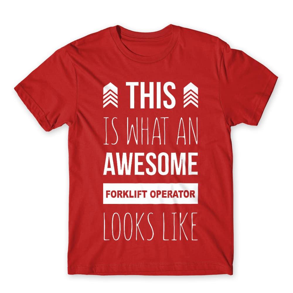 Forklift operator Póló - Ha Forklift Driver rajongó ezeket a pólókat tuti imádni fogod!