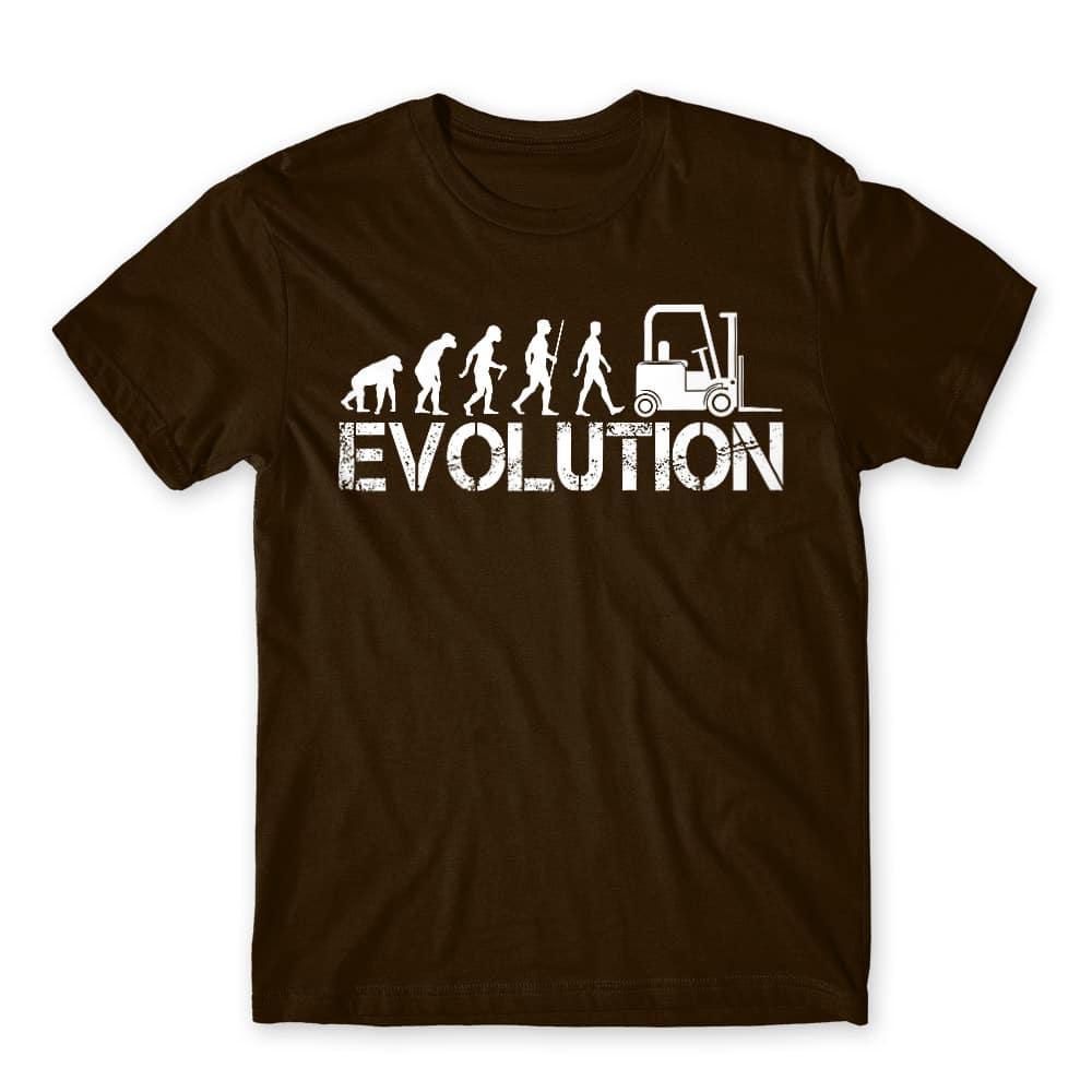 Forklift evolution Póló - Ha Forklift Driver rajongó ezeket a pólókat tuti imádni fogod!