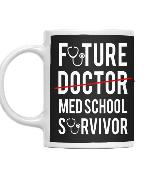 Med school survivor Póló - Ha Doctor rajongó ezeket a pólókat tuti imádni fogod!