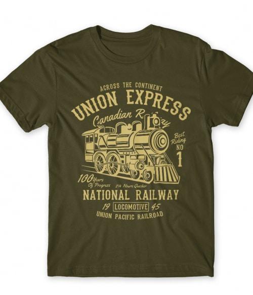 Union express Póló - Ha Locomotive rajongó ezeket a pólókat tuti imádni fogod!