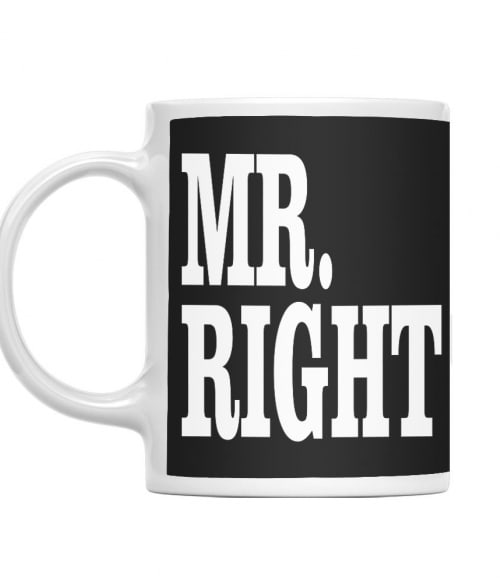 Right Couple – Mr Right Póló - Ha Couple rajongó ezeket a pólókat tuti imádni fogod!
