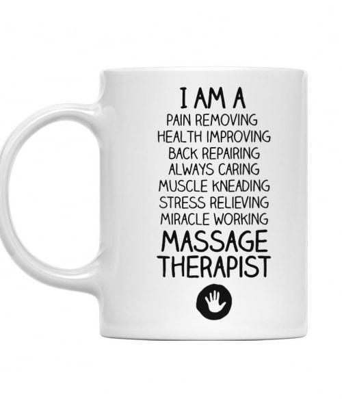 I am a massage therapist Póló - Ha Massage Therapist rajongó ezeket a pólókat tuti imádni fogod!