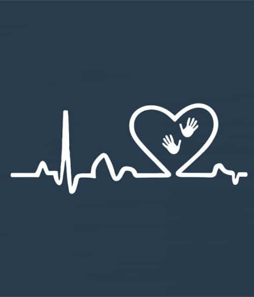 Massage heartbeat Póló - Ha Massage Therapist rajongó ezeket a pólókat tuti imádni fogod!