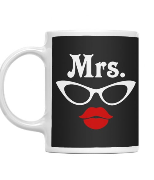 Mr and Mrs Glasses - Mrs Póló - Ha Couple rajongó ezeket a pólókat tuti imádni fogod!