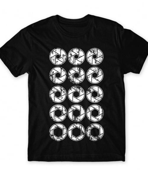 Camera shutter Póló - Ha Photography rajongó ezeket a pólókat tuti imádni fogod!