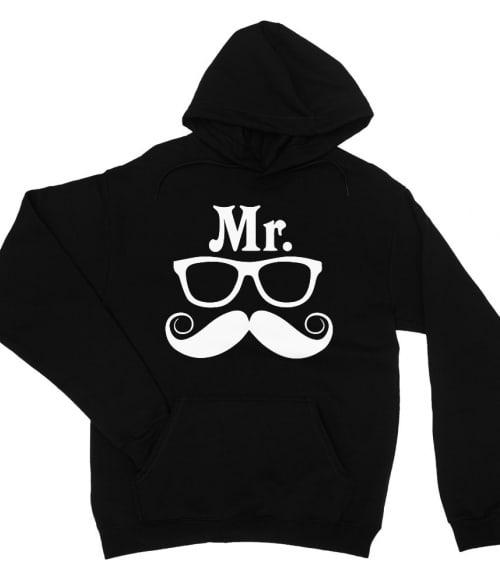 Mr and Mrs Glasses - Mr Póló - Ha Couple rajongó ezeket a pólókat tuti imádni fogod!