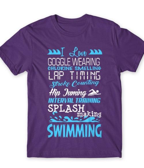 I love swimming Póló - Ha Swimming rajongó ezeket a pólókat tuti imádni fogod!