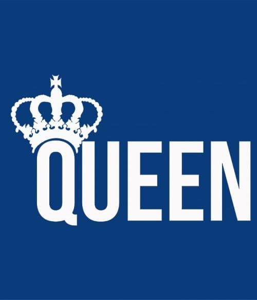 King And Queen – Queen Póló - Ha Couple rajongó ezeket a pólókat tuti imádni fogod!