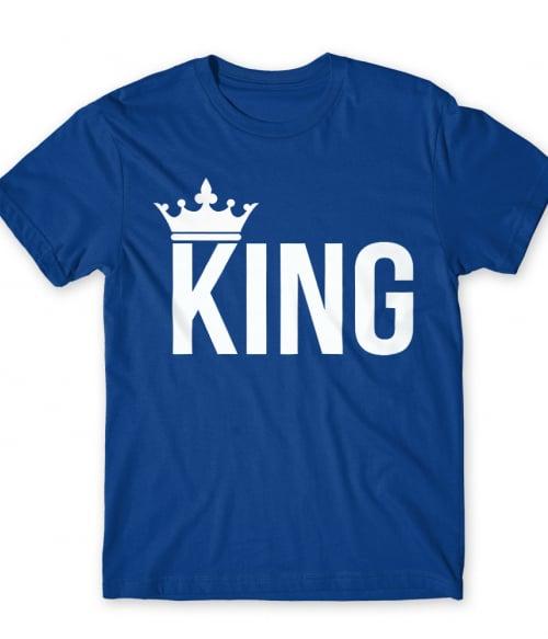 King And Queen – King Póló - Ha Couple rajongó ezeket a pólókat tuti imádni fogod!