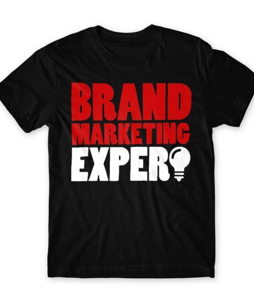 Brand marketing expert Póló - Ha Marketing Manager rajongó ezeket a pólókat tuti imádni fogod!
