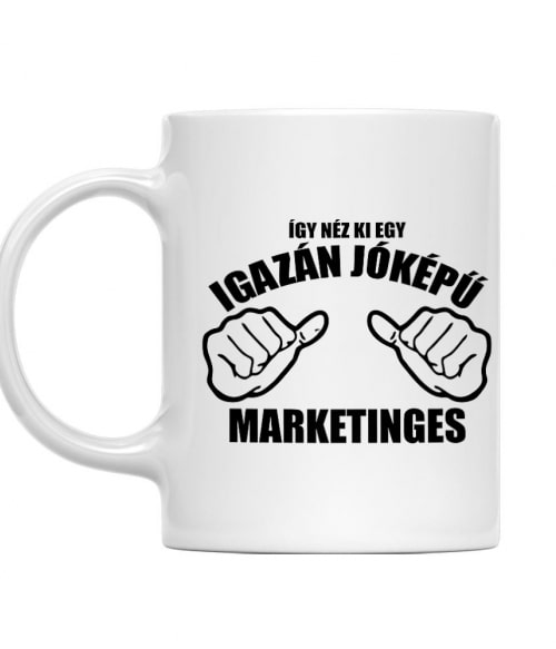 Jóképű marketinges Póló - Ha Marketing Manager rajongó ezeket a pólókat tuti imádni fogod!