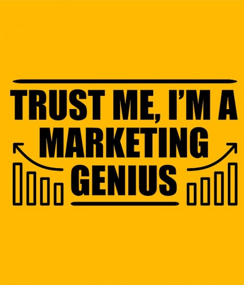 Marketing genius Póló - Ha Marketing Manager rajongó ezeket a pólókat tuti imádni fogod!