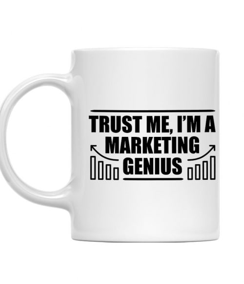 Marketing genius Póló - Ha Marketing Manager rajongó ezeket a pólókat tuti imádni fogod!