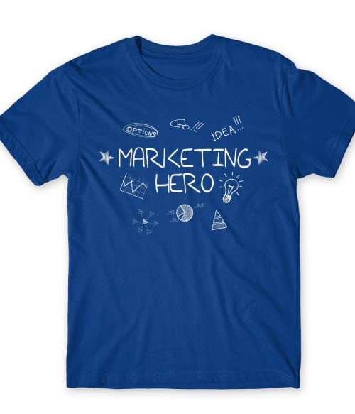 Marketing hero Póló - Ha Marketing Manager rajongó ezeket a pólókat tuti imádni fogod!