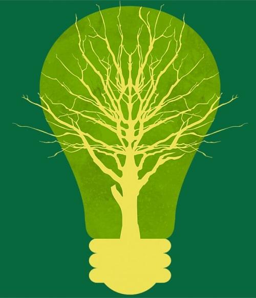 Green Bulb Póló - Ha Environment Protection rajongó ezeket a pólókat tuti imádni fogod!