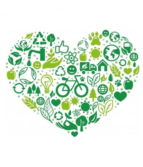 Green Heart Póló - Ha Environment Protection rajongó ezeket a pólókat tuti imádni fogod!