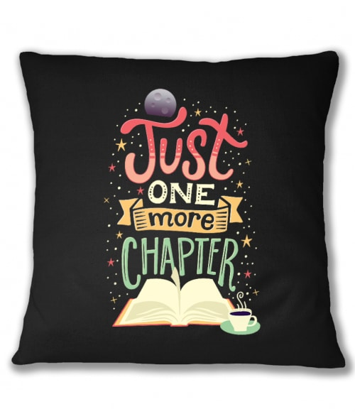 Just one more chapter Póló - Ha Reading rajongó ezeket a pólókat tuti imádni fogod!