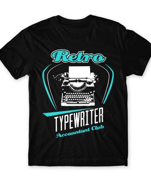 Retro typewriter Póló - Ha Writer rajongó ezeket a pólókat tuti imádni fogod!