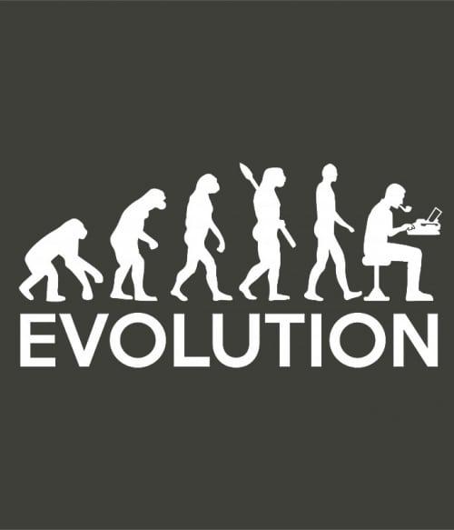 Writer evolution Póló - Ha Writer rajongó ezeket a pólókat tuti imádni fogod!