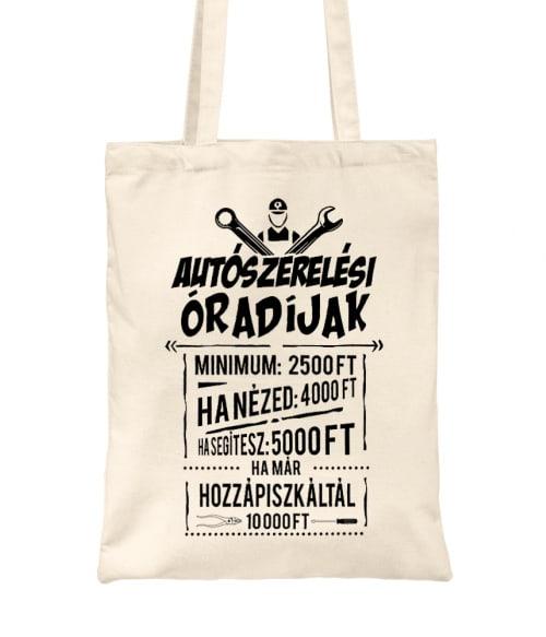Autószerelési óradíjak Póló - Ha Car Mechanic rajongó ezeket a pólókat tuti imádni fogod!