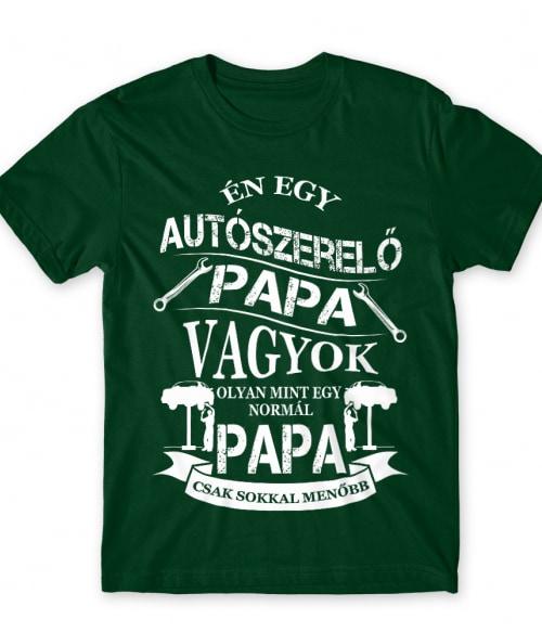 Autószerelő Papa Póló - Ha Car Mechanic rajongó ezeket a pólókat tuti imádni fogod!