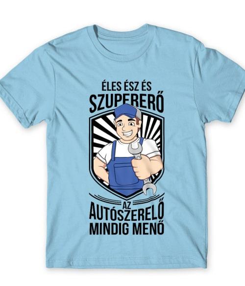 Az autószerelő mindig menő Póló - Ha Car Mechanic rajongó ezeket a pólókat tuti imádni fogod!